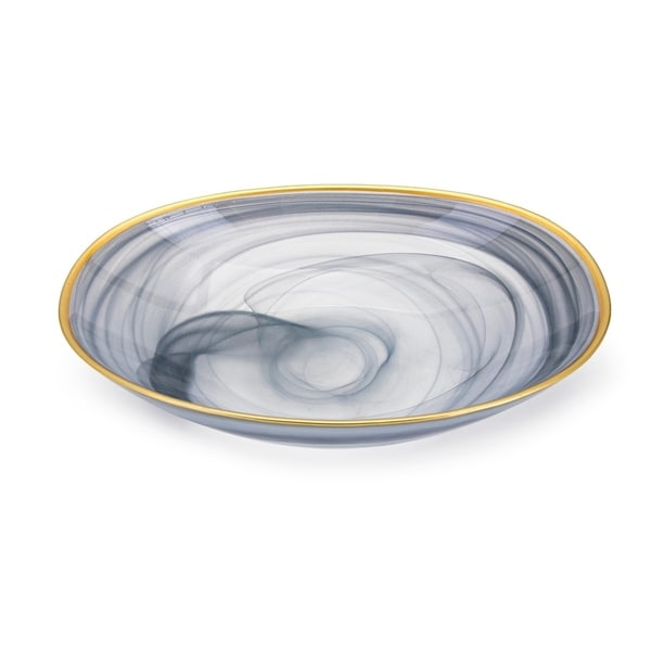 Yazel Blue-grey Glass Bowl. Opens flyout.