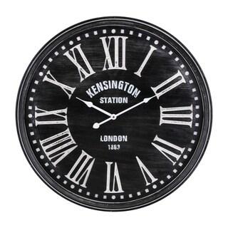Milton Black Wall Clock