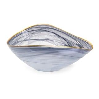 Romero Blue-grey Glass Bowl