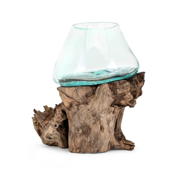 Shop Brown And Clear Large Terrarium On Sale Free Shipping Today
