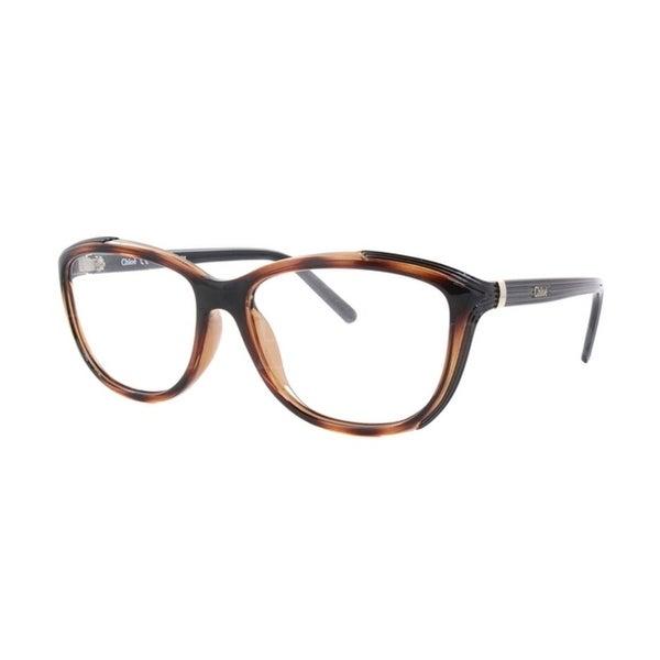 9966bd912ff9 Shop Chloe Rx CE2648 Havana Women Eyeglasses - Free Shipping Today ...