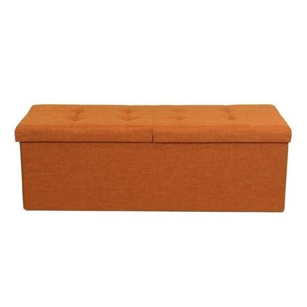 Fantastic Shop Storage Ottoman Bench 45 Inch Smart Lift Top Amber Alphanode Cool Chair Designs And Ideas Alphanodeonline