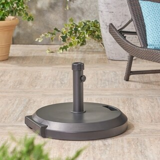 Lao Outdoor 88-pound Umbrella Base with Iron Collar by Christopher Knight Home