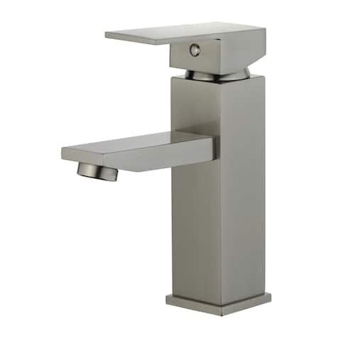 "Atlantis 6-3/4"" Single Hole Lever Handle Bathroom Faucet"