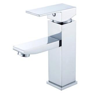 "Atlantis 6- 3/4"" Single Hole Lever Handle Bathroom Faucet in Polished Chrome Finish"