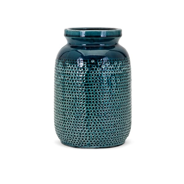 Hollie Dark Teal Small Vase