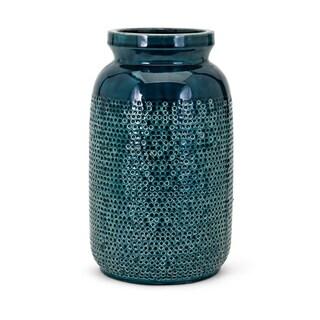 Hollie Dark Teal Large Vase