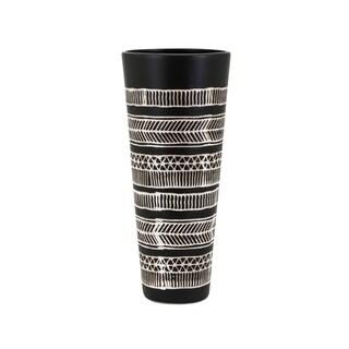 Ayrton Black Small Vase