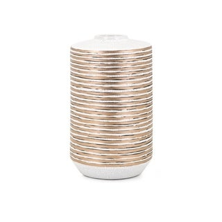 Spindel Copper and White Small Vase