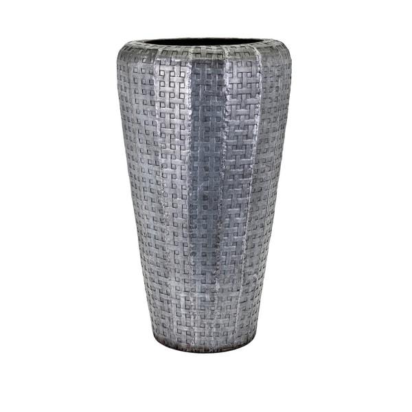 Jones Grey Short Oversized Floor Vase