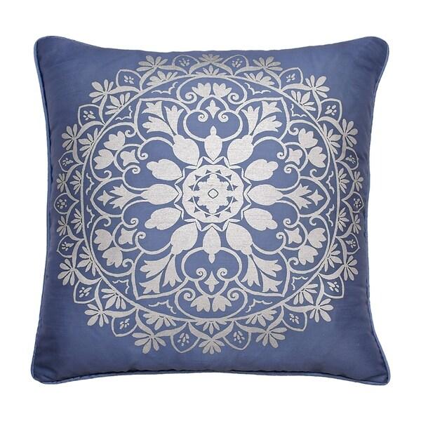 Beautyrest Indochine Silver Foil Decorative Pillow