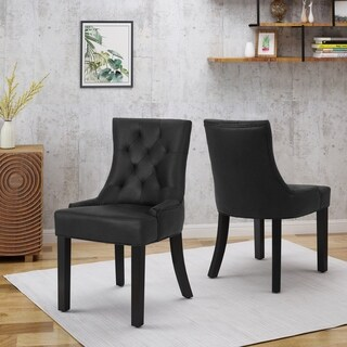 Hayden Traditional Dining Chairs (Set of 2) by Christopher Knight Home