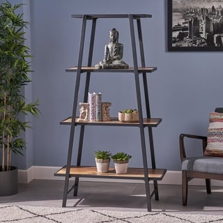 Pedrin Indoor Mid Century Bookshelf by Christopher Knight Home