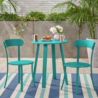 Link to Barbados Outdoor Bistro Set by Christopher Knight Home Similar Items in Patio Furniture