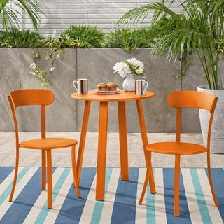 Orange Outdoor Bistro Sets Online At Our Best Patio Furniture Deals