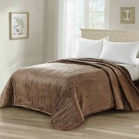 Serenta Microplush Quilted Coverlet