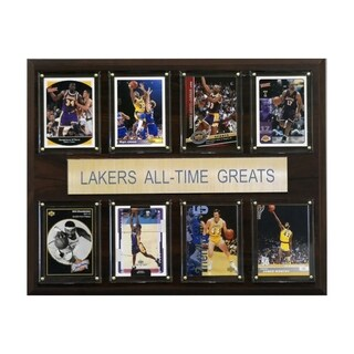 "NBA Los Angeles Lakers All Time Greats Plaque 12""x15"""