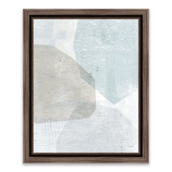 """Pensive II"" Framed Printed Canvas - 13.25W x 16.25H x 1.25D - Multi-color"
