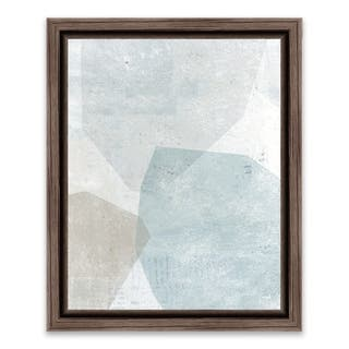 """""""Pensive I"""" Framed Printed Canvas - 13.25W x 16.25H x 1.25D - Multi-color"""