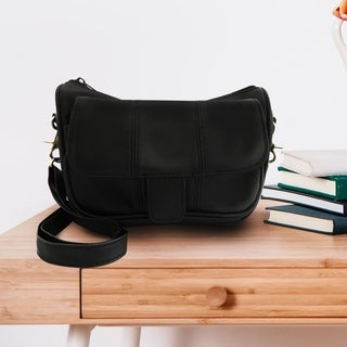 AFONiE Bella Leather Crossbody Handbag