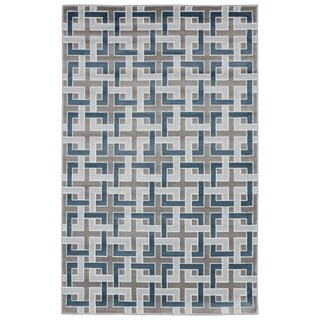 "Square Maze Rug (9'10"" x 12'6"") - 9'10"" x 12'6"""