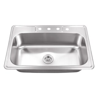 Cahaba Heavy Duty Single Bowl Stainless Steel Utility Sink