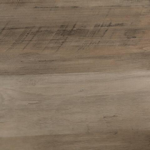 Carbon Loft Kenyon Round Metal Wrap Side Table - 18 x 18 x 22h