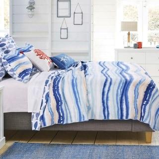 Barefoot Bungalow Crystal Cove Blue Quilt Set