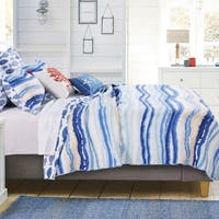 Barefoot Bungalow Crystal Cove Blue Quilt Set