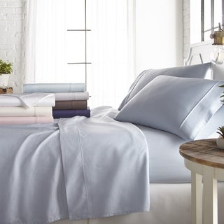 Merit Linens 800 Thread Count 4 Piece Cotton Rich Sheet Set