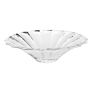 "Majestic Gifts  European High Quality Glass Centerpiece Bowl-13.2"" Diameter"