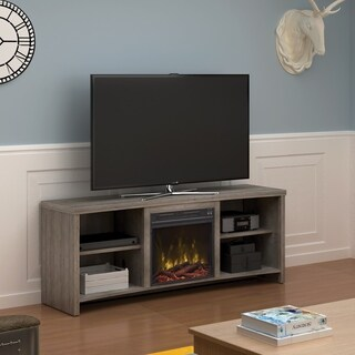 "Shelter Cove Fireplace TV Stand for TVs up to 65"", Valley Pine"