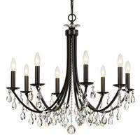 elight DESIGN Traditional 8-light Bronze/Crystal Chandelier