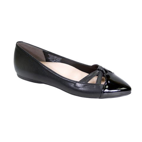 a2758bd943 Peerage Sidney Women Wide Width Pointed Toe Casual Dress Step in Flats