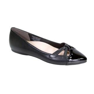 Peerage Sidney Women Wide Width Pointed Toe Casual Dress Step in Flats