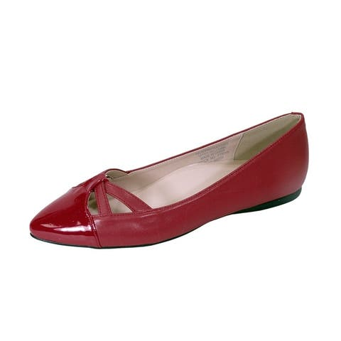 7402669368 Peerage Sidney Women Wide Width Pointed Toe Casual Dress Step in Flats