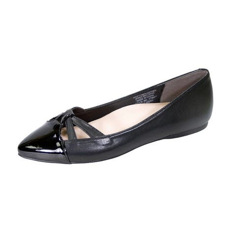 26b73d60f125 Peerage Sidney Women Wide Width Pointed Toe Casual Dress Step in Flats