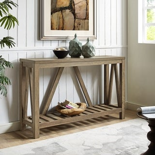 Classic polished wooden entryway bench Coat Rack Buy Console Tables Online At Overstockcom Our Best Living Room Furniture Deals Jekyll Hyde Buy Console Tables Online At Overstockcom Our Best Living Room