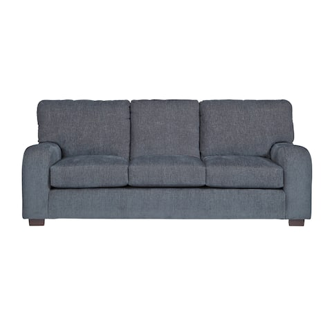 Progressive Nora Blue Grey Chenille Sofa