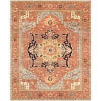 """Pasargad Serapi Collection Hand-Knotted Wool Area Rug (5' x 8') -  5' 1"""" x  8' 1"""""""