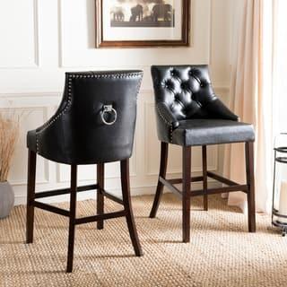 Fine Buy Black 4 Legs Counter Bar Stools Online At Overstock Lamtechconsult Wood Chair Design Ideas Lamtechconsultcom