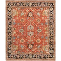 "Pasargad Serapi Collection Hand-Knotted Wool Rug (10' x 16') - 9'11"" x 16' 0"""