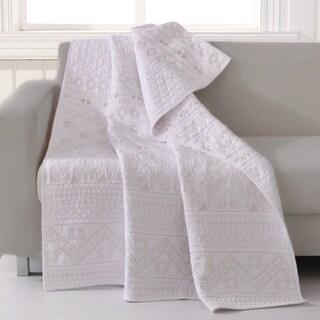 Greenland Home Milano European-Style Cotton Throw