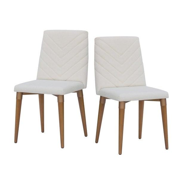 Mid Century Dining Room Chairs: Shop Manhattan Comfort Utopia Mid Century Upholstered