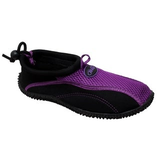 Women's Aquasock Slip On Purple/Black (More options available)