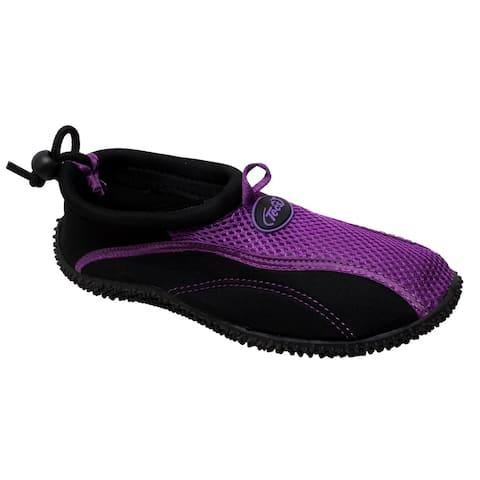 Women's Aquasock Slip On Purple/Black