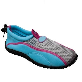 Women's Aquasock Slip On Blue/Pink (More options available)