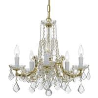 elight DESIGN Traditional 5-light Gold Chandelier