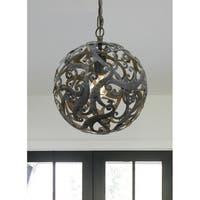 elight DESIGN Coastal 1-light Farmhouse Bronze Pendant