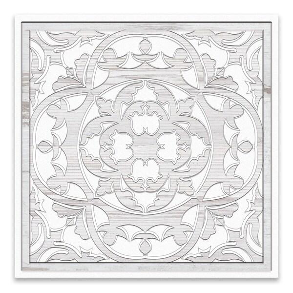 """""""Tile 1"""" Printed Canvas - 18W x 18H x 1.25D - Multi-color"""